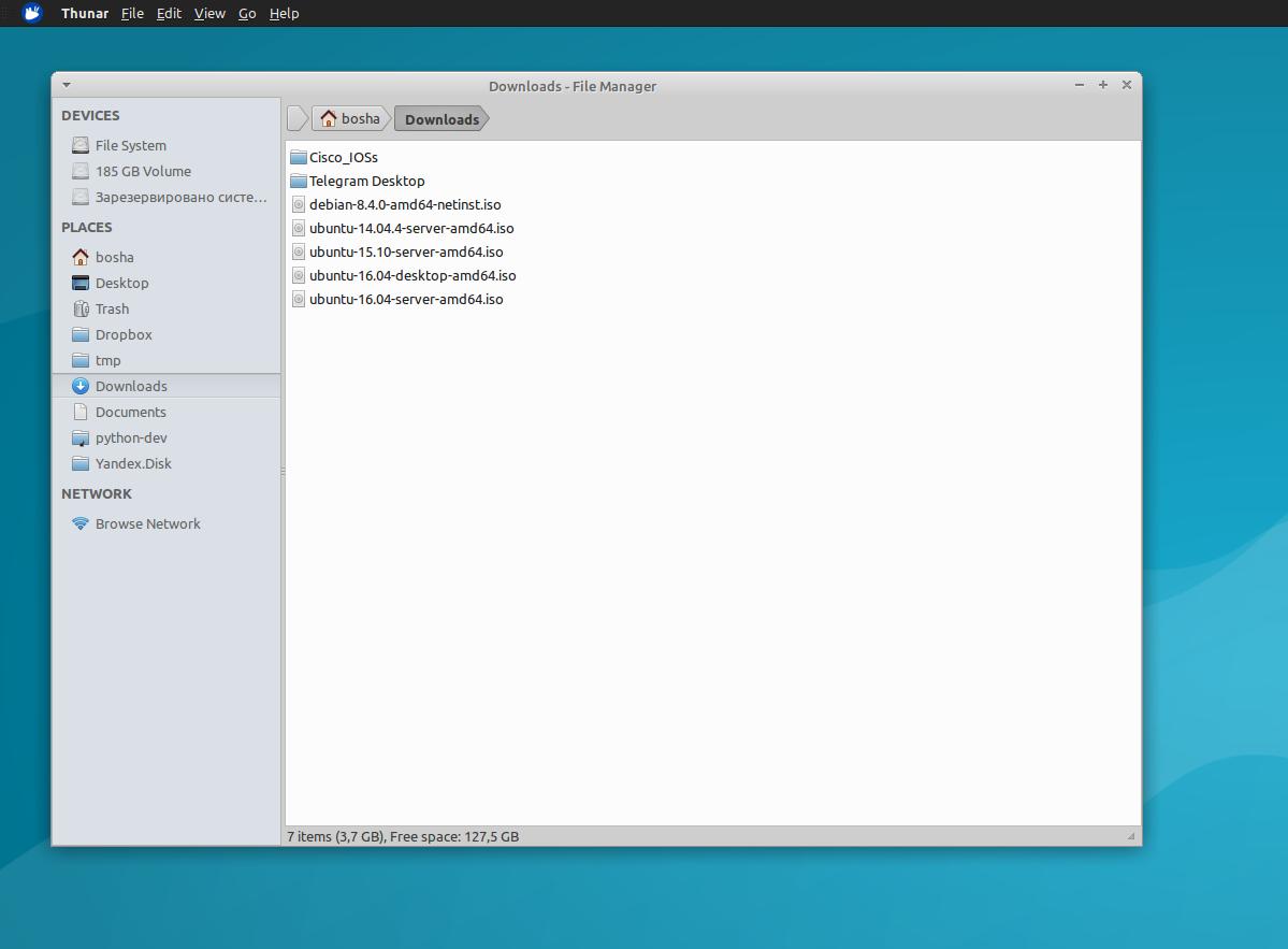 TopMenu - глобальное меню в Xfce