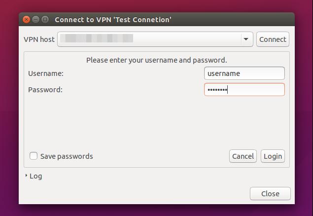 Network Manager - подключение к Cisco VPN